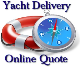 Online Quote for Yacht Delivery